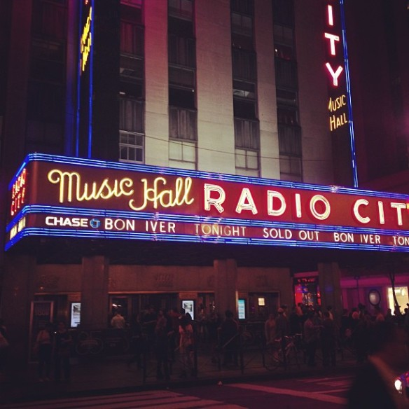 Bon Iver at Radio City